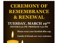 Ceremony of Remembrance and Renewal