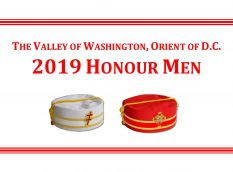 2019 DC Scottish Rite Honour Men